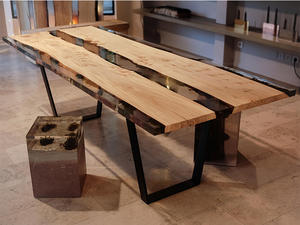 E01 River Wood Table