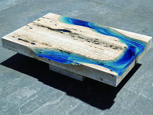 E03B Epoxy Resin Table