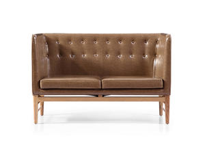 China Loveseat Italian Leather Sofa Manufacturer