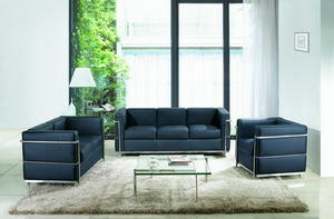 China Three Seater PU Sofa Manufacturer-Hingis specializes in sofa for 20 years