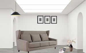 China Three Seater Alcove Low Back Sofa Manufacturer