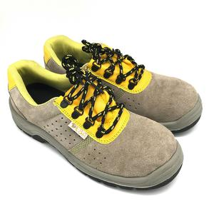 Factory Wholesale Cow Suede Leather Cheap High Quality Low Cut Safety Shoes