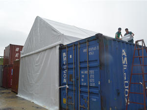 Container Storage Tent (CST)