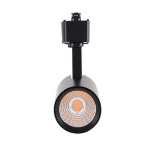 Mirrea 16.5W LED Track Lighting Black Heads for H Type Rail