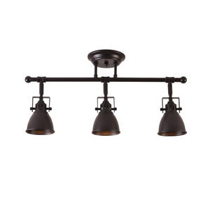 Mirrea 22in Track Lighting Heads LED Kit 3 Lamp Oil Rubbed Bronze