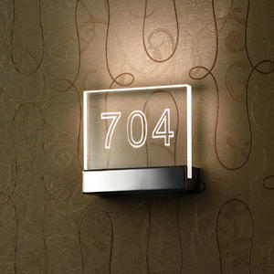 Doorplate Lamp