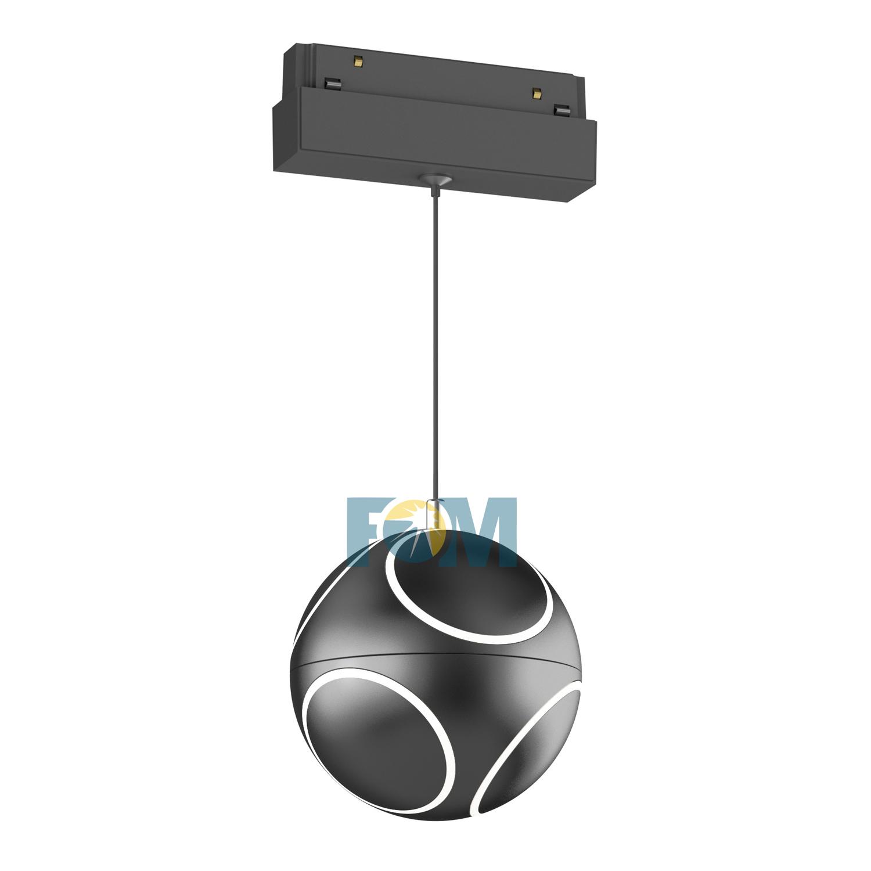 Luz de pista magnética