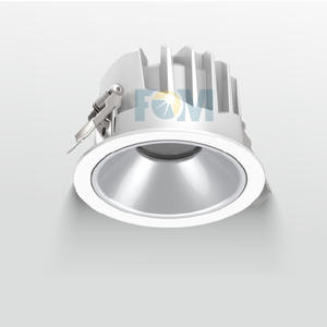 Down light is a lighting fixture that is embedded in the ceiling and emits light.
