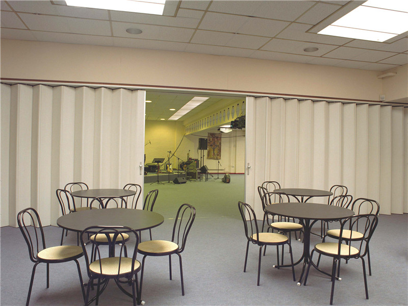 PVC Folding Door Plastic Interior Accordion Partition