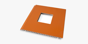 custom made Notching panel Notching external terracotta panel producer