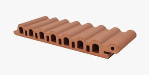 hot sales Wave-shape Exterior Wall Terracotta Panel Cladding manufacturing