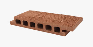 Special finish extra thick terracotta clay panel