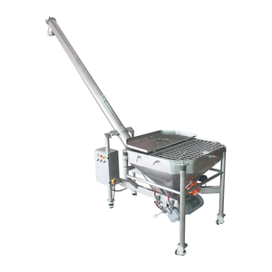 Auger Conveyor With 350L Square Hopper