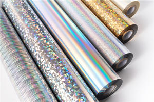 overprintable POPT Holographic Hot Stamping Foils Series manufacturer