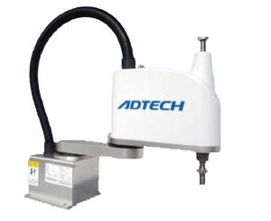 ADTECH 4-axis 2kg payload scara robot with 400mm arm reach