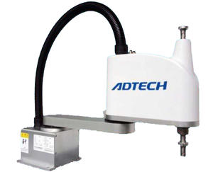 ADTECH 4-axis 2kg payload scara robot with 500mm arm reach