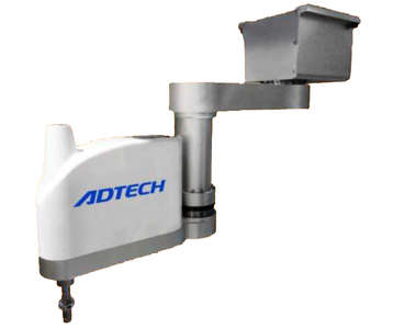 ADTECH 4-axis 1kg payload scara robot with 600mm arm reach