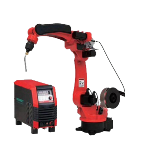 6-axis 1800mm Arm Reach Welding Robot With 350A Welding Source