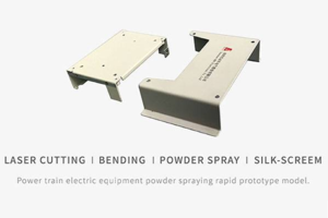 Power Train Electric Equipment Powder Spraying Rapid Prototype Printing Model