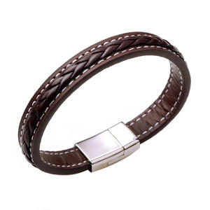 Fashionable Custom Leather Bracelets With Best Price