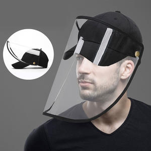 Custom Hat With Face Shield | Baseball Cap With Face Cover From Brilliant