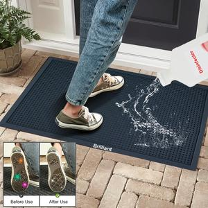 Custom shoe sanitizer mat | anti-slip disinfectant doormat supplier