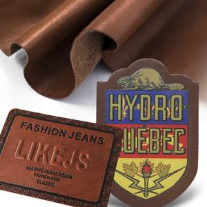 Hot Stamping Customized &Hot Sale Leather Patch For Garment