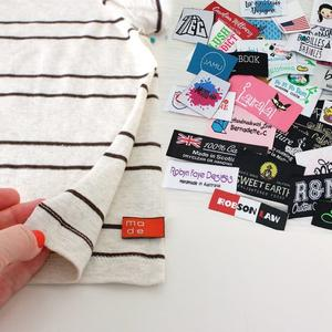 High Quality Custom Clothing Garment Manufacture's Customized Clothing Label