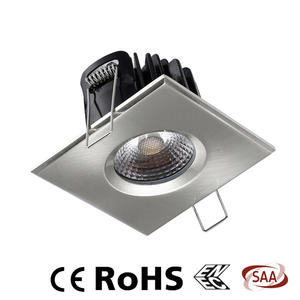 Square recessed lighting, square downlight, square led downlights supplier