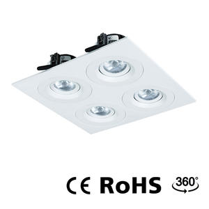 LED ceiling spotlights, adjustable downlights, dimmable down lights manufacturer