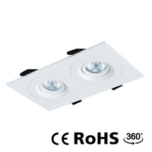 Adjustable down lights, recessed adjustable led spotlights supplier.