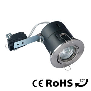 Fire rated adjustable downlights, tilt spotlights, halogen downlight factory