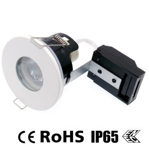 IP65 gu10 downlights, ip65 fire rated downlights, gu10 recessed light fixture supplier.