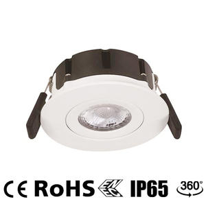 LED recessed spotlights, waterproof led downlights, ip65 tilt downlight supplier.