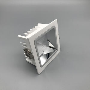 Square led recessed lighting, 2700k led downlight, square downlights for kitchen supplier