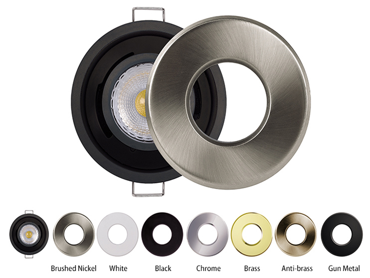 What finish do you perfer for led recessed downlight ?