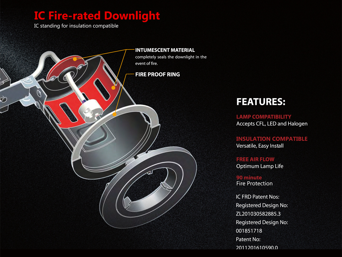 What are fire rated downlights and do you need them in your home?
