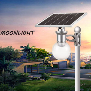 Landscape solar garden lights with auto on-off sensor
