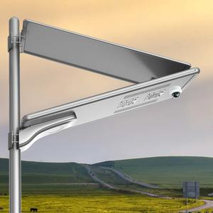 IOT Smart Solar Street Light with CCTV and Camera