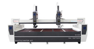 China CNC Water Jet Cutting Machine Producer-AC-5axis Waterjet Machine