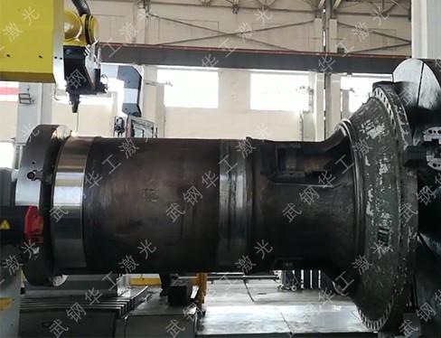 Laser-repair-of-motor-electric-wheel