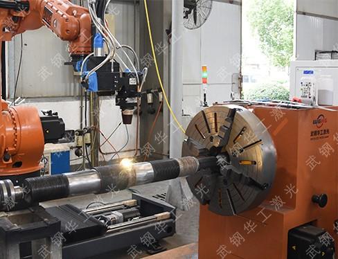 Oil-stem-laser-repair-for-shaft-base