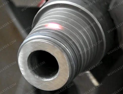 Thread laser quenching
