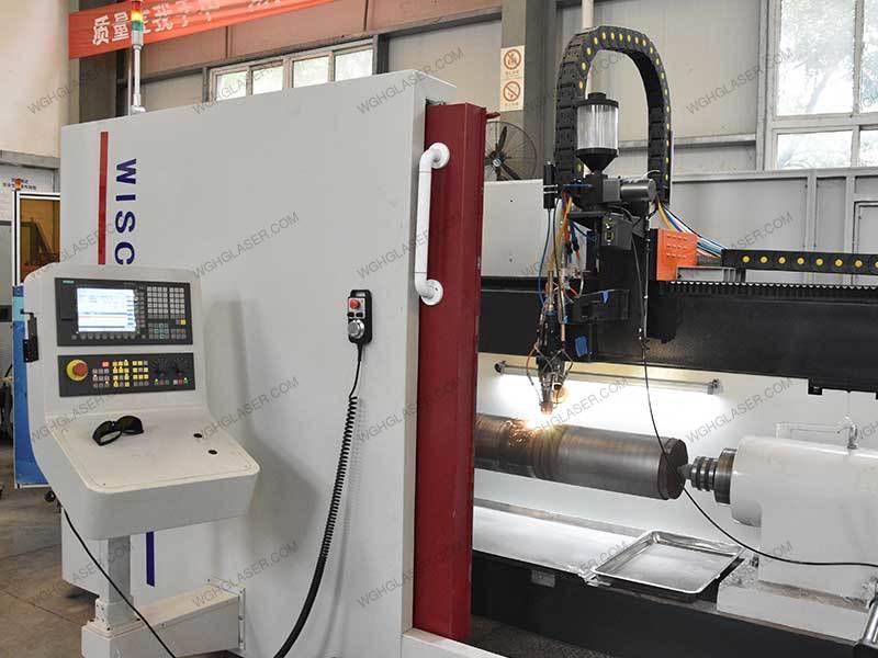High-speed laser cladding for coal machine hydraulic cylinder