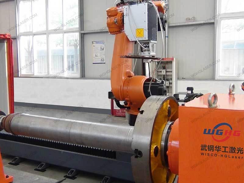 laser cladding for coal machine hydraulic cylinder