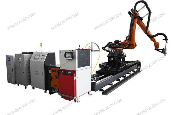 RCW mold laser quenching equipment (floor fixing structure)