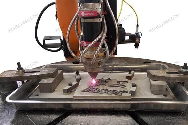 Metal laser 3D printing for logo