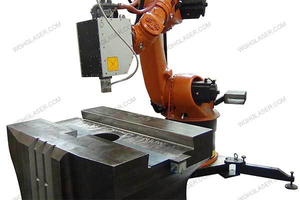 Laser quenching for Hammer seat