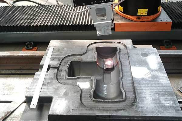 Laser quenching for mold