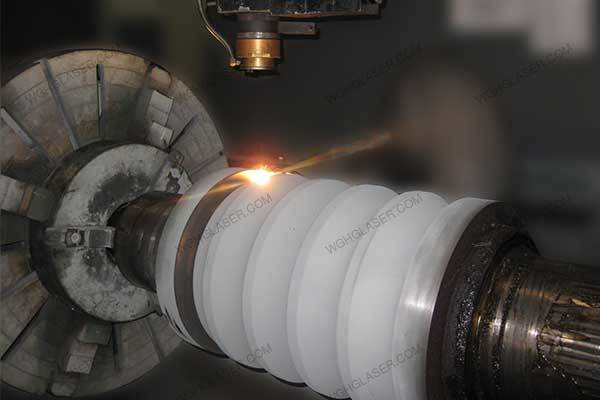 Laser alloying for Roll